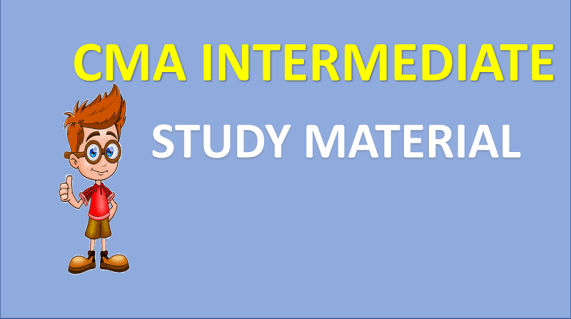 cma intermediate study material