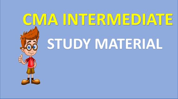 CMA INTERMEDIATE (Inter) BOOKS IN PDF FREE DOWNLOAD